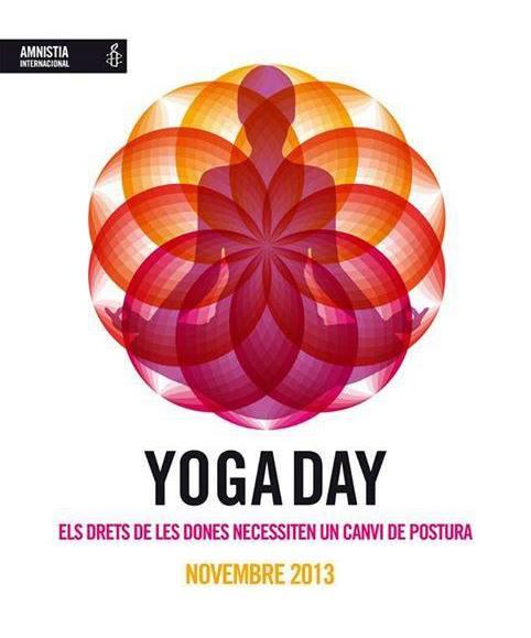 Surya participó en el Yoga Day el pasado noviembre 2013